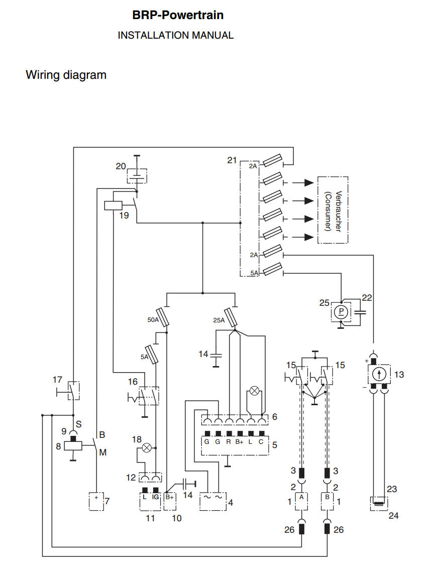 Rotax 912 Wiring Schematic Rotax Wiring Diagram Instruction – Rotax 582 Wiring Diagram