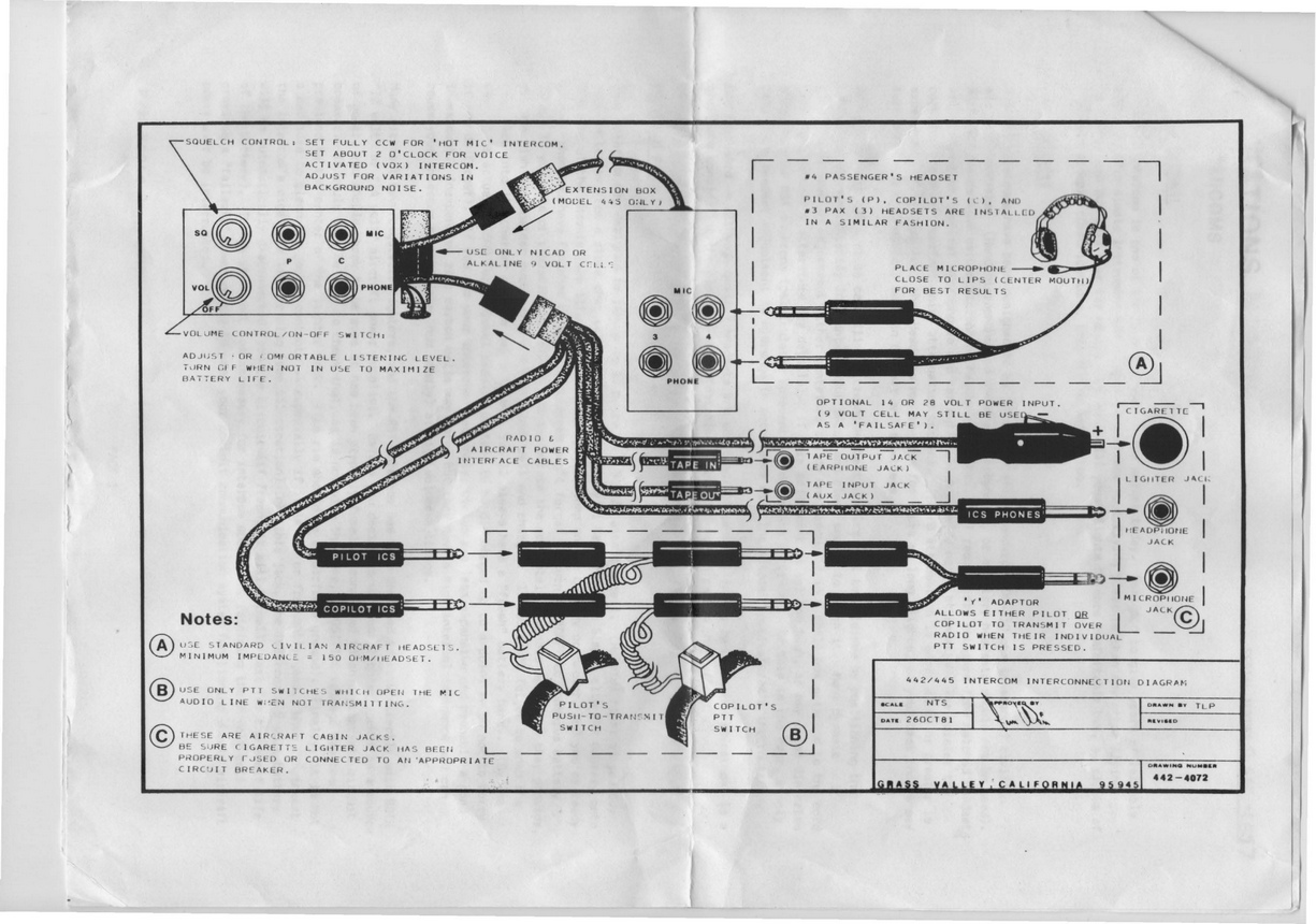 general aviation headset wiring diagram general aeroelectric list archive browser on general aviation headset wiring diagram
